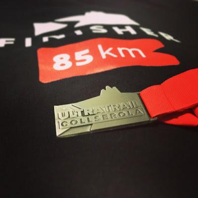 Medalla Finisher UltraCollserola 2015