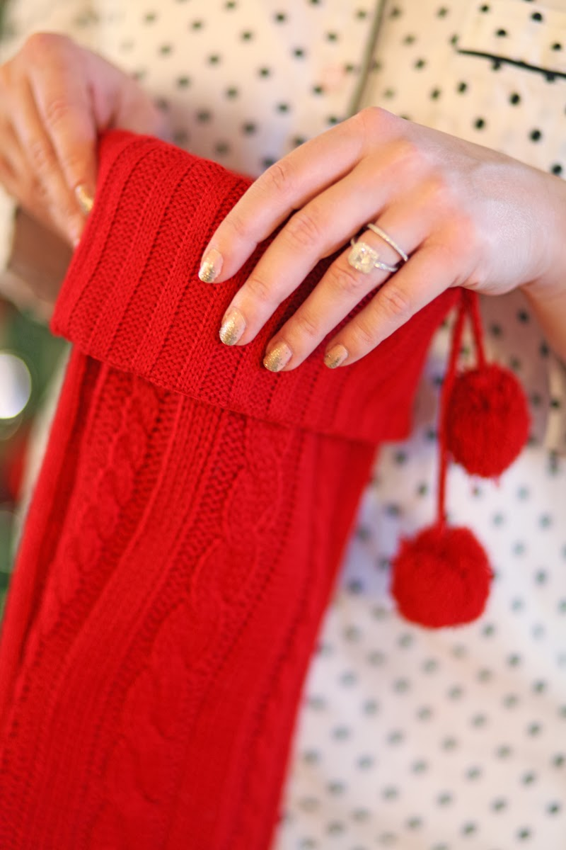 red-cable-knit-stocking-holiday-home-decor-christmas-king-and-kind-blog
