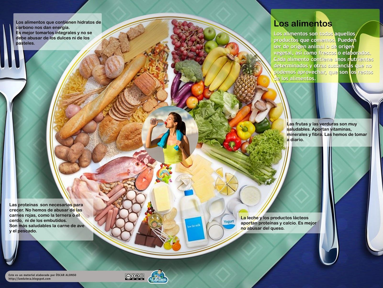 Recursos primaria esquema sobre los alimentos la eduteca - Comodas originales ...