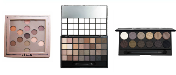 Natural Eyeshadow Palettes