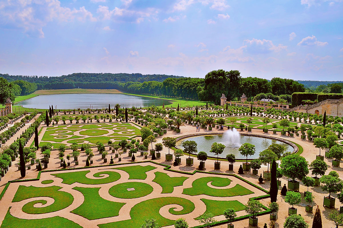 World beautifull places richest city of france versailles for France jardin