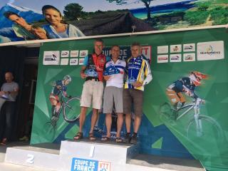 Marc Balascovic gagne la coupe de France à Montgenèvre