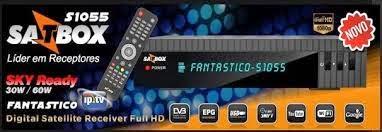 Colocar CS SATBOX NOVA ATUALIZAÇÃO SATBOX FANTÁSTICO S1055 HD   18/09/2014 comprar cs