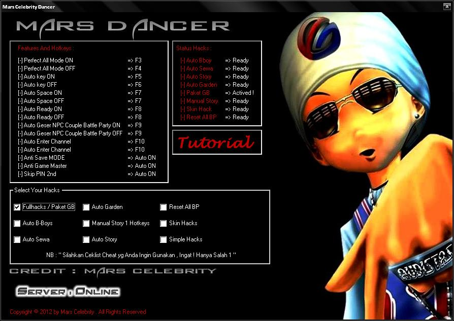 Cheat Ayodance Mars Dancer v.6090