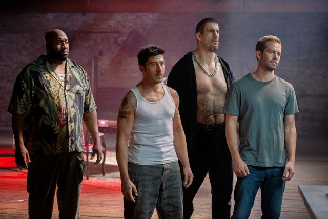 Paul Walker, Lino and the bad guys in Brick mansions