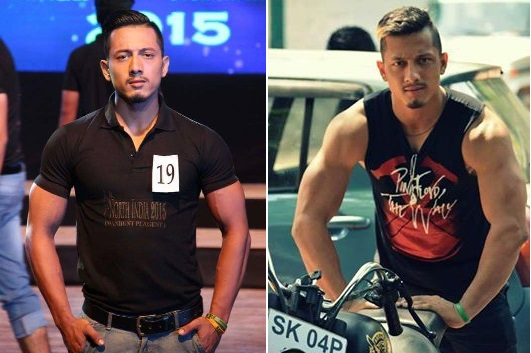 Naseeb Tamang Best Physique in Mr North India Manhunt  2015