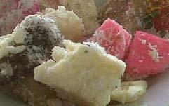 makanan khas indonesia - kue tradisional getuk lindri