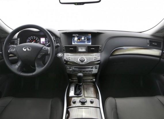 2012 Infiniti M Hybrid interior