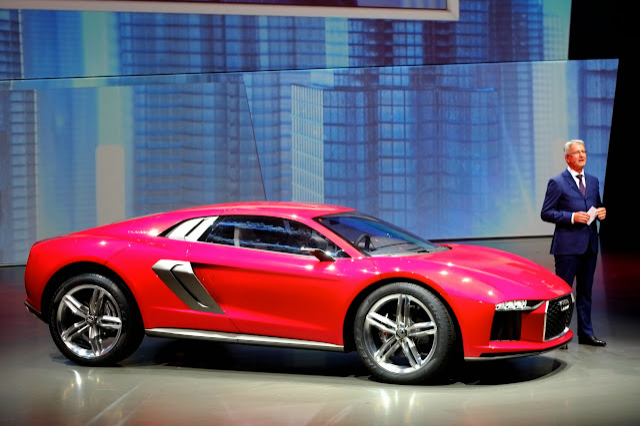 Audi Nanuk Quattro Concept: An Off-Road R8?