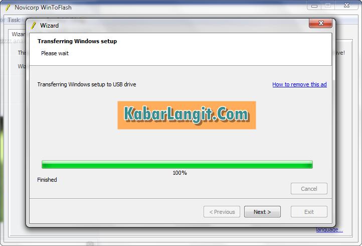 Cara Mudah install Windows 7 menggunakan Flahdisk