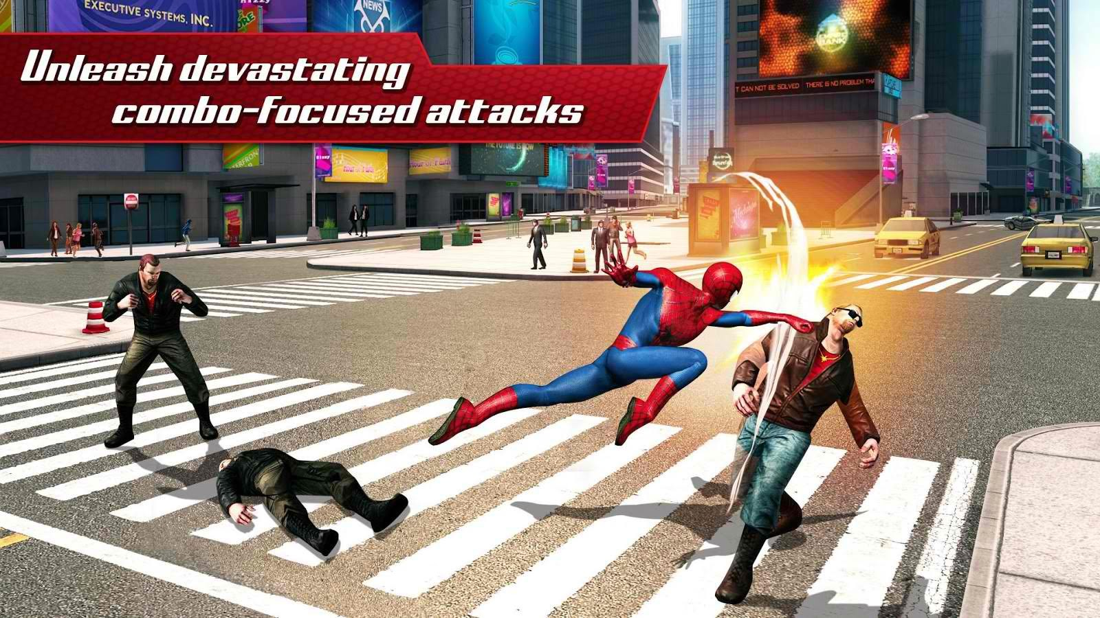 The Amazing Spider Man 2 MOD APK [Unlimited Money] v1.2.8d ...