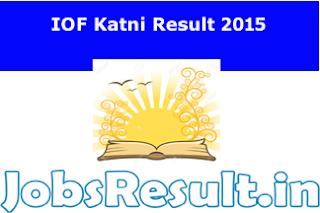 IOF Katni Result 2015