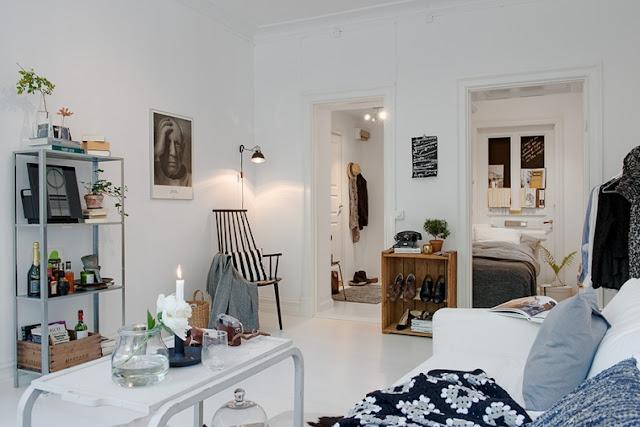 total white nordic decor
