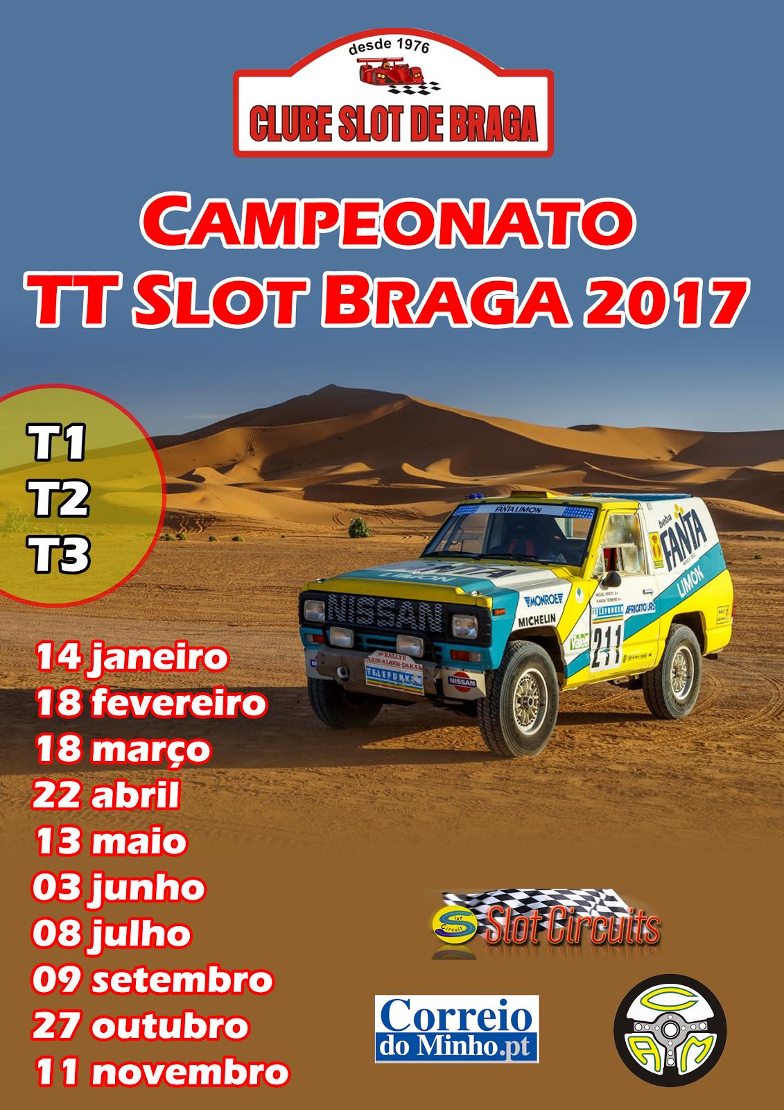 CAMPEONATO TT SLOT BRAGA 2017