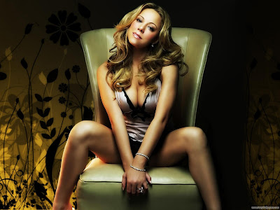 Mariah Carey American Singer and Actress Wallpaper