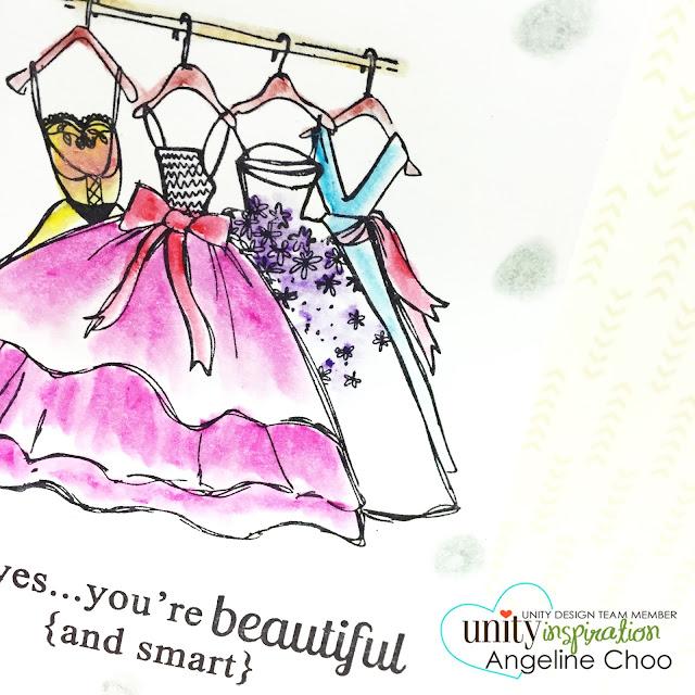 ScrappyScrappy: Unity Hop and Watercolor Craze [NEW VIDEOS] #scrappyscrappy #unitystampco #stamp #card #prima #oilpastel #coloring #watercolor