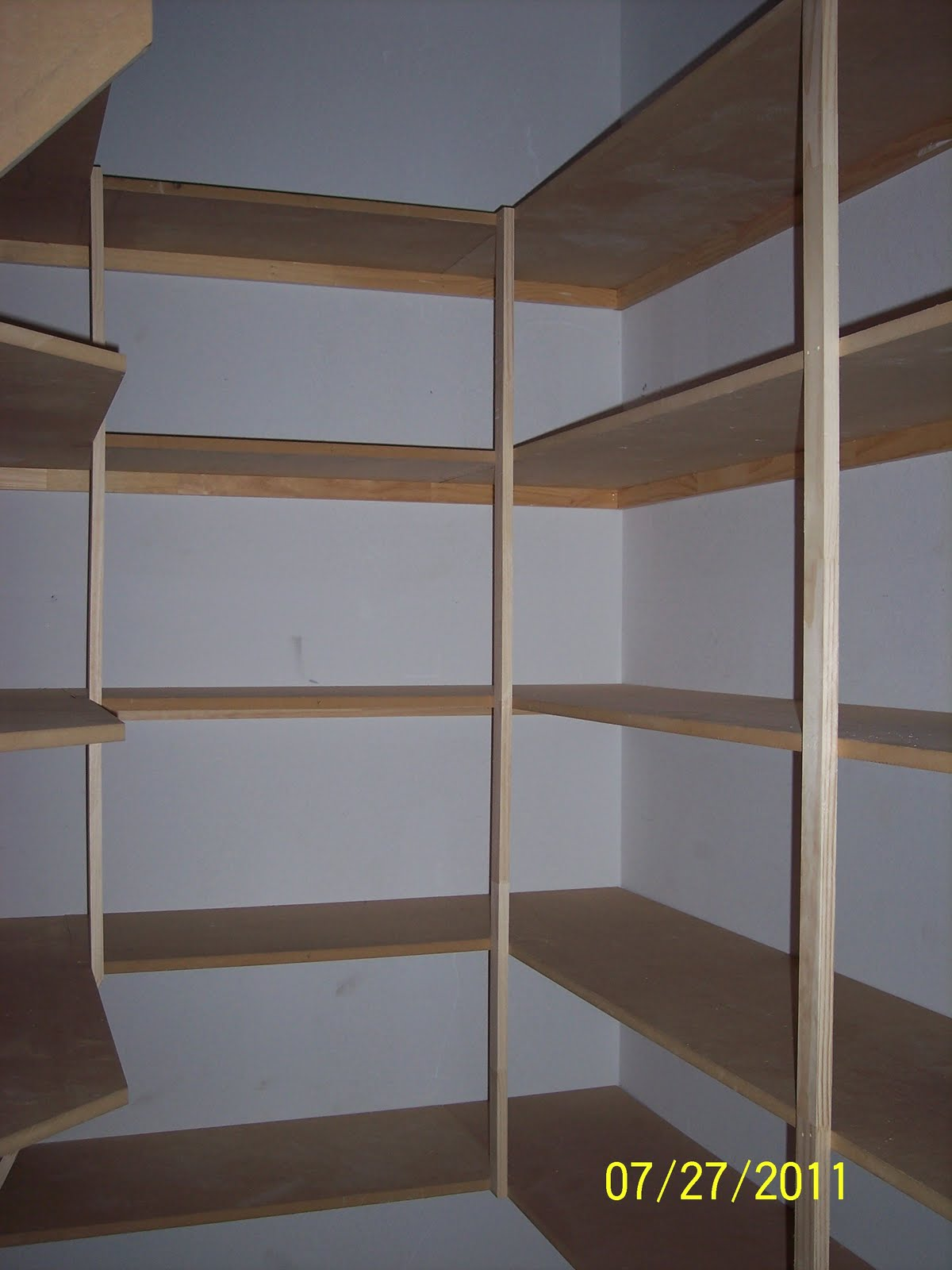 Marvelous photograph of Pantry Shelves . with #A5A526 color and 1200x1600 pixels