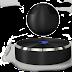 Draadloze speaker zweeft op magnetisch veld