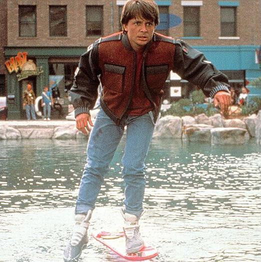 Skate voador de de volta para o futuro ser comercializado - Diva future porno ...