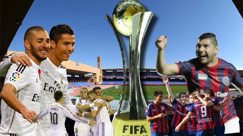 Real Madrid vs San Lorenzo Final Piala Dunia Antarklub