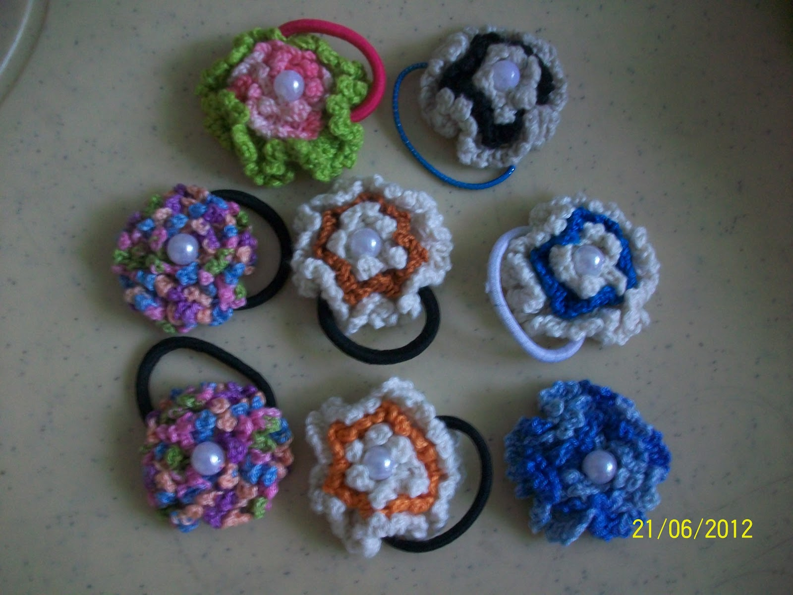 Girlies Crochet: Hair Accessories Crochet