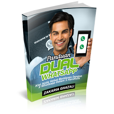 cara buat 4 whatsapp dalam satu handphone