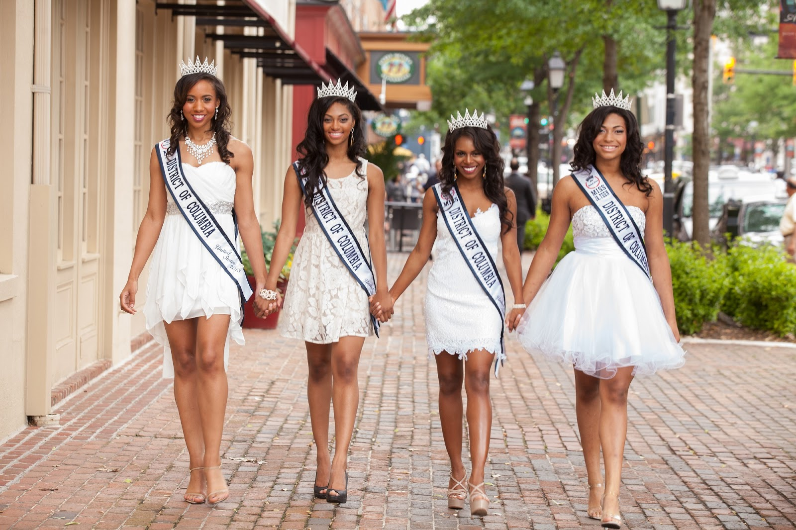 Columbia (MS) United States  City pictures : Ms. DC Erika Thomas, Miss Teen DC Colby Muhammad, Miss United States ...
