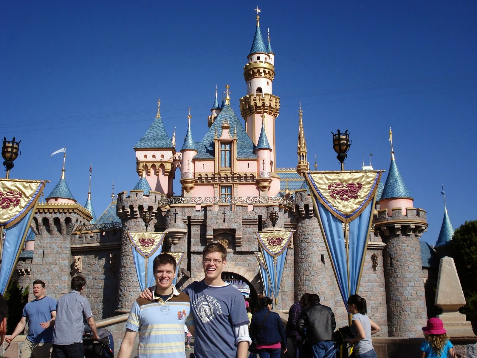 First time to Disneyland with my younger brother