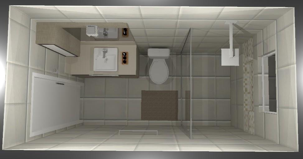 Banheiro social  LA Arquitetura -> Banheiro Pequeno Planta Baixa