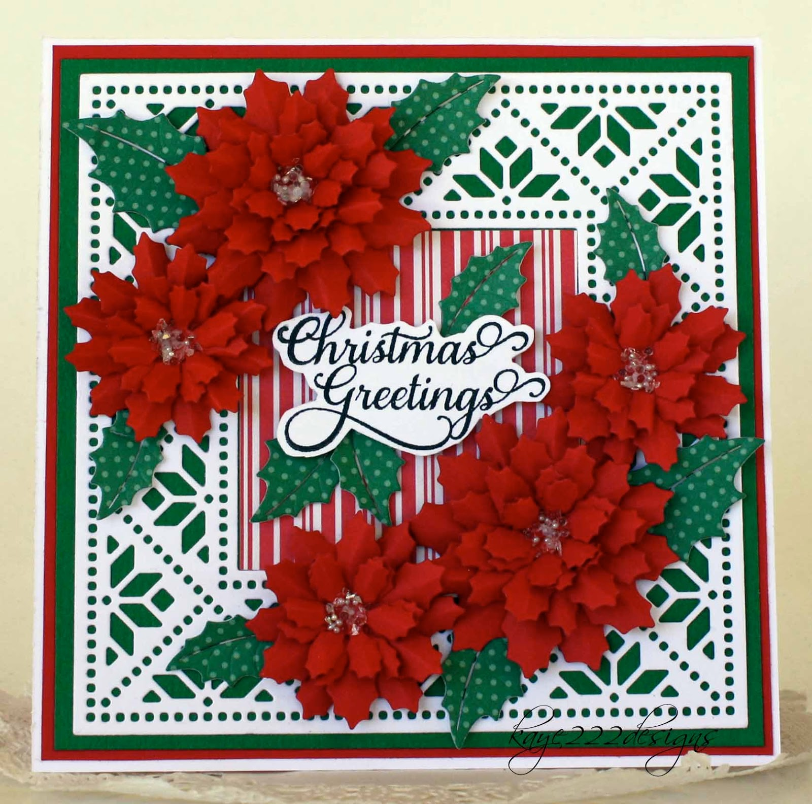 Beyond beauty christmas greetings with cheery lynn designs christmas greetings with cheery lynn designs kristyandbryce Images