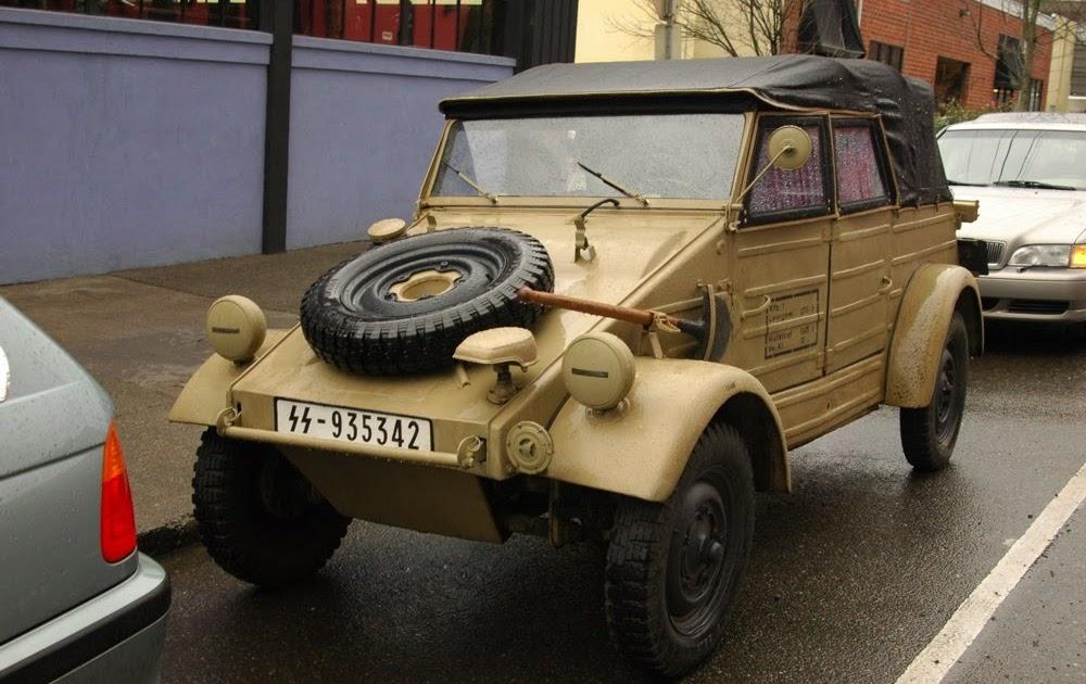 old parked cars revisited 1943 volkswagen k belwagen type 82. Black Bedroom Furniture Sets. Home Design Ideas