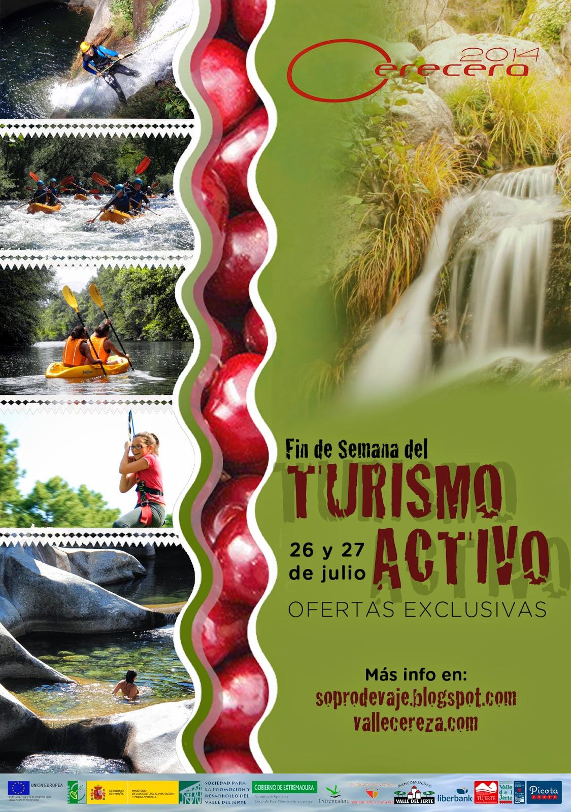 Fin de semana del TURISMO ACTIVO en el Valle del Jerte