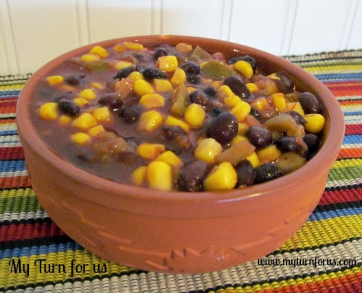 Easiest Black Bean and Corn Salsa ever!! http://www.myturnforus.com ...