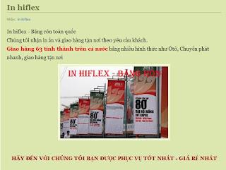 In băng rôn TPHCM, In hiflex giá rẻ aad.vn
