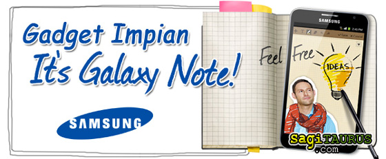 Gadget Impian - Samsung Galaxy Note