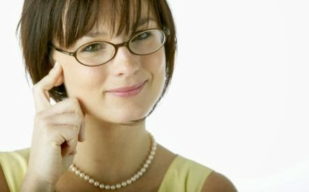 Men Married to Smart Women Live Longer - girl workaholics wear glasses eye work SUCCESSFUL