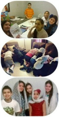 Nuestros Niños En Sus Clases Biblicas