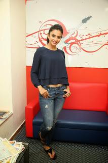 Actress Rakul Preet Singh Pictures in Jeans Gallery at Big FM 16.JPG