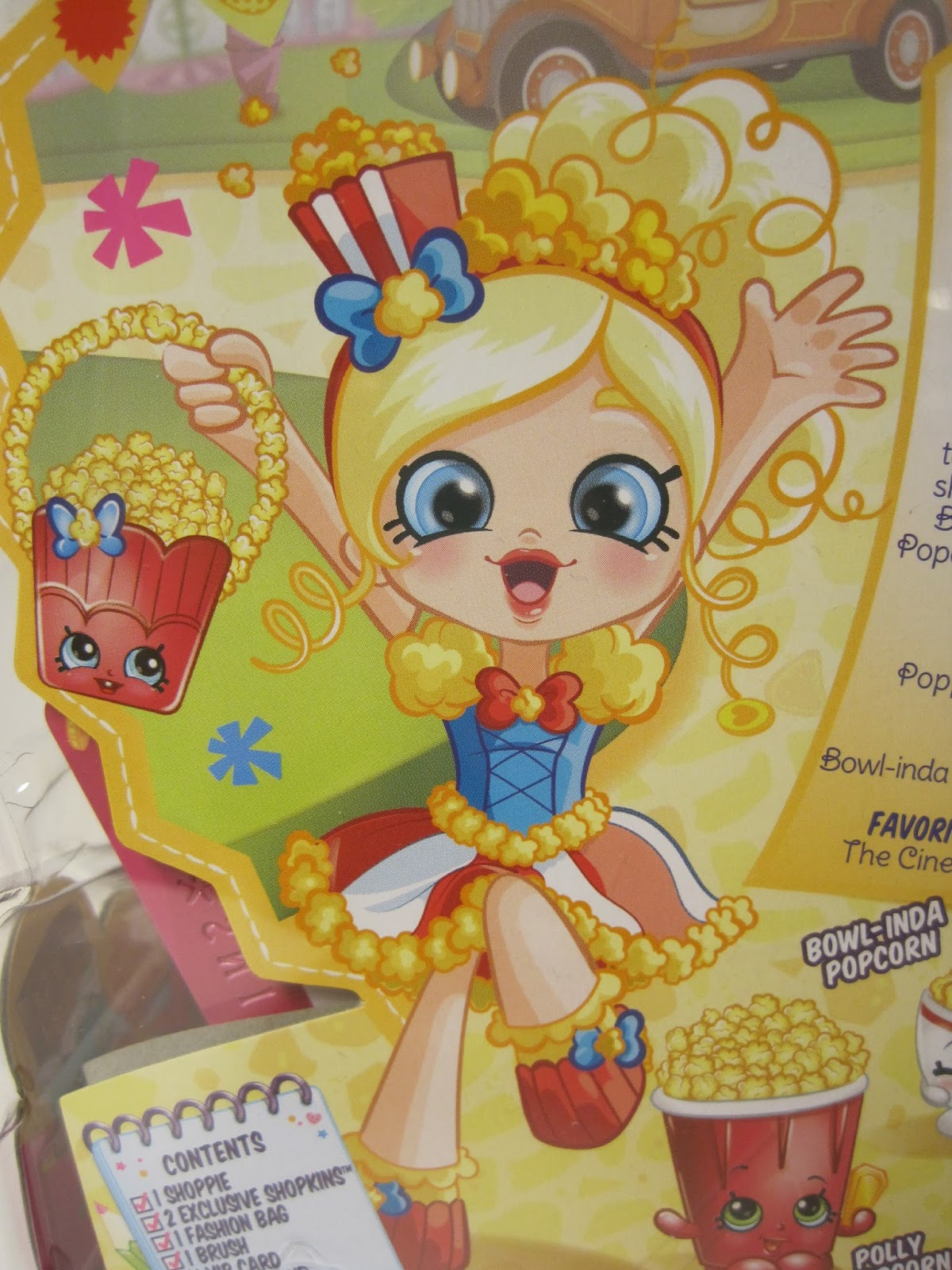 Shopkins Doll Jessicake Shopkin Shoppies Toy