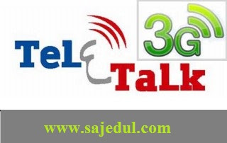 Teletalk 3G Internet