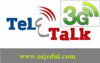 Teletalk 3G Internet