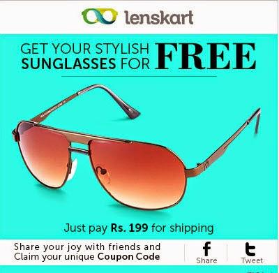 Lenskart : Parim Sunglasses Rs. 199 only