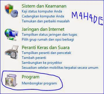Cara mengaktifkan game di windows7