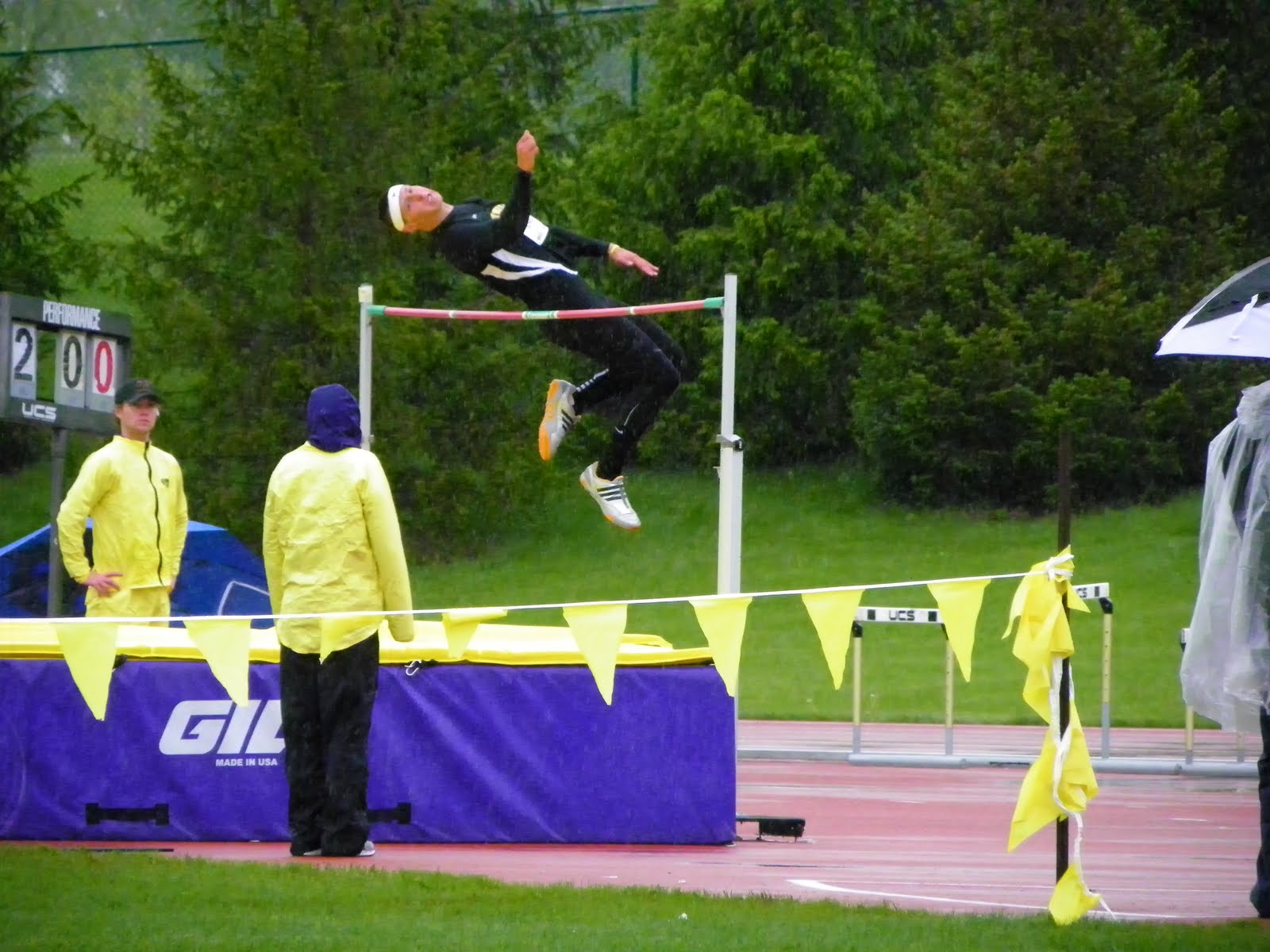 how to high jump track and field