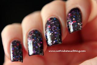 technic glitter nail polish