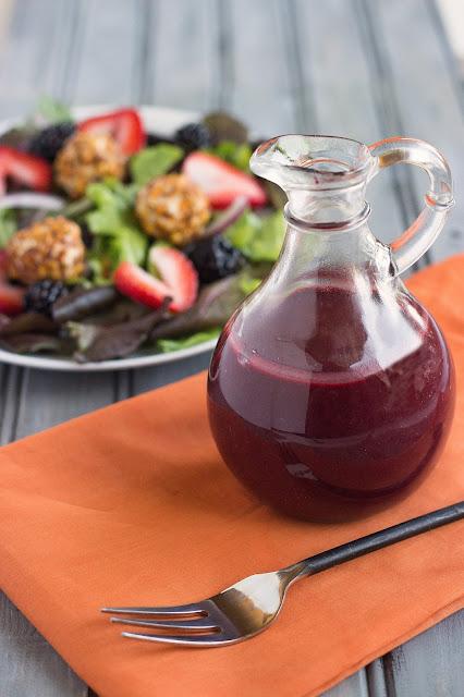 Blackberry Vinaigrette | Cooking on the Front Burner