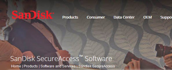 SanDisk SecureAccess Software