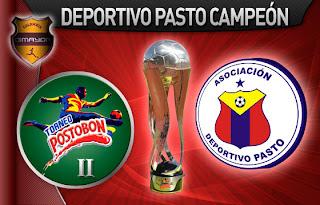 Pasto es el Campeón del Torneo Postobon II 2011