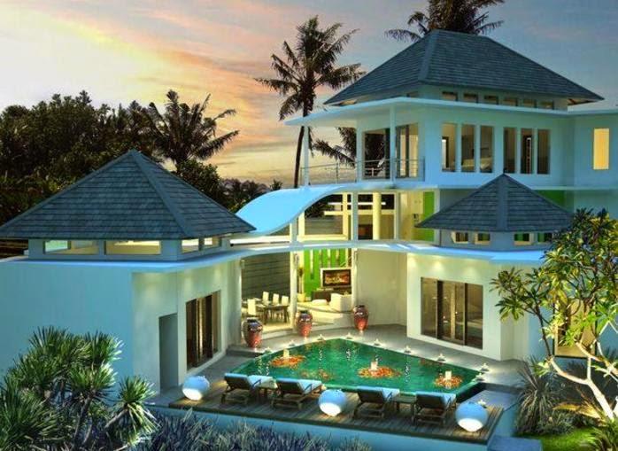 desain rumah ala eropa modern minimalis mewah terbaik