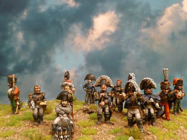 Napoléon et son Etat- Major - Figurines Wargames Foundry 3